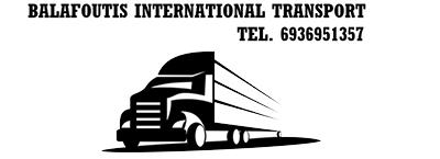 Balafoutis - International Transport